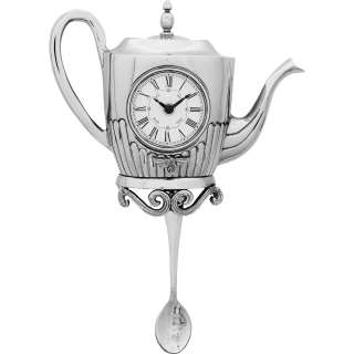 Wanduhr Tea Pot