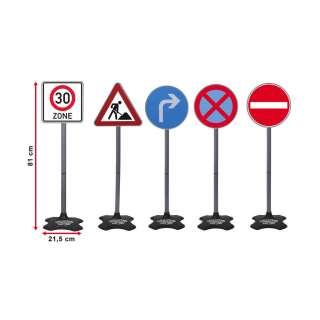 Verkehrszeichen-Set Multicolor