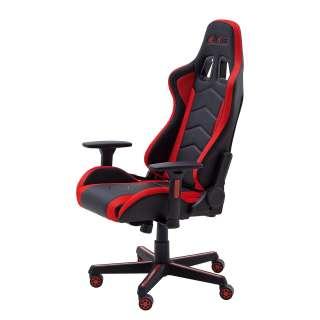 home24 LED Gaming Chair MC Racing