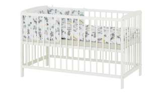 Komplett Gitterbett  FRIDO ¦ weiß ¦ Maße (cm): B: 65 H: 80 Baby > Babymöbel > Babybetten - Höffner
