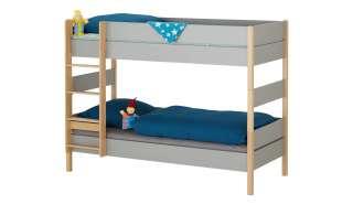 PAIDI Etagenbett mit gerader Leiter  Sten ¦ holzfarben ¦ Maße (cm): B: 105,6 H: 160,6 Kindermöbel > Kinderbetten - Höffner