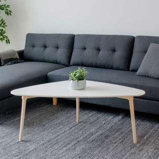 Schwingstuhl in Rostfarben Kunstleder Stahl (4er Set)