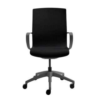 Schreibtischsessel in Schwarz Mesh verstellbarer Rückenlehne