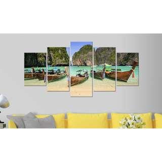 EUROGRAPHICS Wanduhr 20 x 60 cm Jeder Tag
