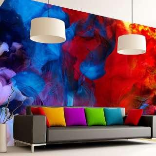 home24 Vliestapete Colored Flames