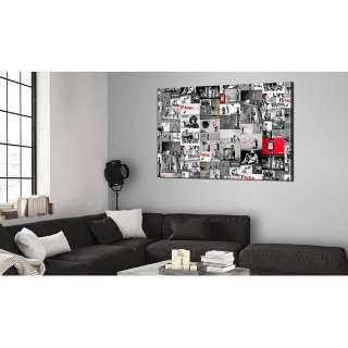 Quadrato Bett mit Metallschrauben als Dekorationselement, natur, 140x200cm »Mirage«, FSC®-zertifiziert