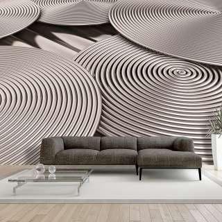 home24 Vliestapete Copper Spirals