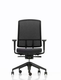 Vitra - AM Bürostuhl - schwarz - indoor