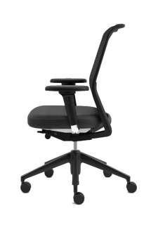 Vitra - ID Mesh Bürostuhl mit Armlehnen - nero - indoor
