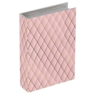 BÜCHERBOX Textil Rosa