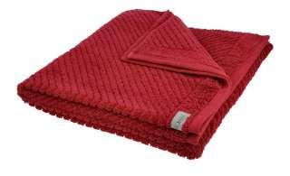 Ross Duschtuch  4006 ¦ rot ¦ 100% Baumwolle ¦ Maße (cm): B: 70 Badtextilien und Zubehör > Handtücher & Badetücher > Handtücher - Höffner