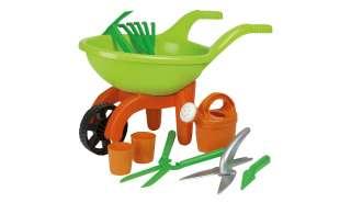 Schubkarre mit Gartenwerkzeug, 9-teilig  Simba ¦ grün ¦ Kunststoff (Polypropylen) ¦ Maße (cm): B: 29 H: 27 Baby > Spielen > Lernspielzeug - Höffner