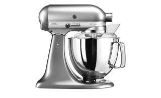 KitchenAid Küchenmaschine  5KSM175PSEMS ¦ silber ¦ Metall, Kunststoff ¦ Maße (cm): B: 24 H: 36 T: 37 Elektrokleingeräte > Mixen, Zerkleinern & Entsaften - Höffner