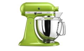 KitchenAid Küchenmaschine  5KSM175PSEPT ¦ grün ¦ Metall, Kunststoff ¦ Maße (cm): B: 24 H: 36 T: 37 Elektrokleingeräte > Mixen, Zerkleinern & Entsaften - Höffner