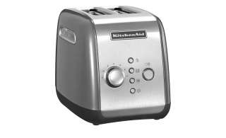 KitchenAid Toaster  5KMT221ECU ¦ silber ¦ Kunststoff, Metall ¦ Maße (cm): B: 28,6 H: 21 T: 18,4 Elektrokleingeräte > Toaster - Höffner