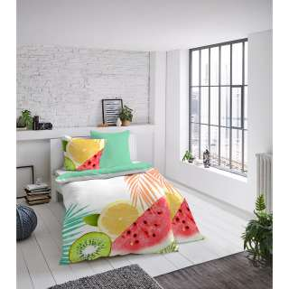 home24 Mako-Satin-Bettwaesche Obst
