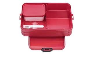 Rosti Mepal Bento-Lunchbox To Go, 1,5l  Take a Break large ¦ rot ¦ Kunststoff ¦ Maße (cm): B: 17 H: 6,5 Küchenzubehör & Helfer > Vorratsbehälter - Höffner