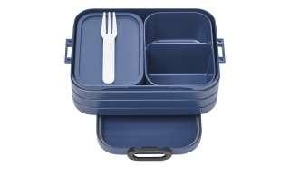 Rosti Mepal Bento-Lunchbox To Go, 0,9l  Take a Break midi ¦ blau ¦ Kunststoff ¦ Maße (cm): B: 12 H: 6,5 Küchenzubehör & Helfer > Vorratsbehälter - Höffner