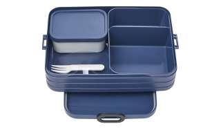 Rosti Mepal Bento-Lunchbox To Go, 1,5l  Take a Break large ¦ blau ¦ Kunststoff ¦ Maße (cm): B: 17 H: 6,5 Küchenzubehör & Helfer > Vorratsbehälter - Höffner