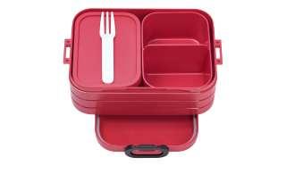 Rosti Mepal Bento-Lunchbox To Go, 0,9l  Take a Break midi ¦ rot ¦ Kunststoff ¦ Maße (cm): B: 12 H: 6,5 Küchenzubehör & Helfer > Vorratsbehälter - Höffner