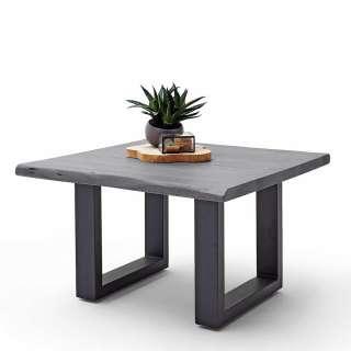 Tischläufer Outdoor Pattern - Webstoff - Babyblau / Weiß, Apelt