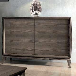 Esszimmersideboard Küchensideboard in Geölt mit drei Schubladen