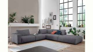 Teppich Tile - Kunstfaser - Hellblau / Weiß - 120 x 170 cm, Top Square
