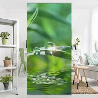 home24 Raumteiler Green Ambiance II