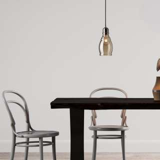 Konsolen Esstisch mit Eiche furniert 200 cm breit