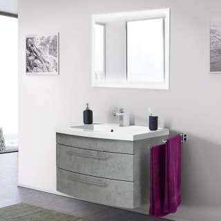 EEK A+, Wohnwand WhiteStar I (4-teilig) - Hochglanz Weiß, loftscape