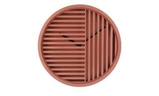 Wanduhr ¦ rosa/pink ¦ Maße (cm): H: 4,8 Ø: 30.4 Dekoration > Uhren & Wetterstationen - Höffner