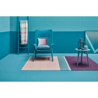 Balkonmöbel aus Teak Massivholz und Stahl klappbar (3-teilig)