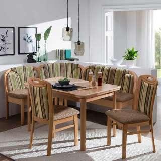 Home affaire Garderobe aus Metall mit 4 Haken zum Aufhängen »Hirsch«, silber