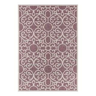 Teppich Ethno - Kunstfaser - Grün / Weiß - 160 x 230 cm, Top Square