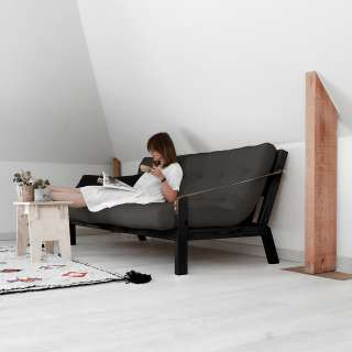 Relaxsessel Canillo I (mit Hocker) - Antiklederlook - Nougat, Fredriks