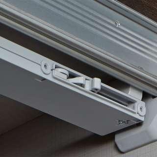 Wohnzimmer Highboard aus Wildeiche massiv LED Beleuchtung
