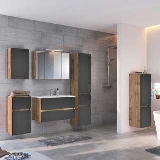 Wohnzimmer Couchtisch aus Wildeiche massiv geölt modern