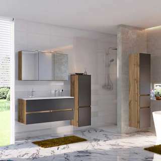 Wohnzimmer Couchtisch aus Kernbuche Massivholz 85 cm breit