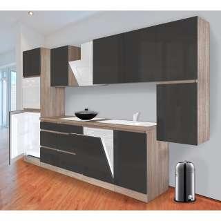 Wohnzimmer Schrankwand in Weiß skandinavischen Design (4-teilig)