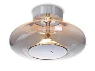 Kronleuchter Cupola Nickel - Metall/Glas - Nickel - 1-flammig