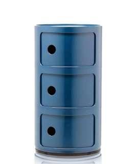 Kartell - Componibili - 3 Elemente - blau - indoor