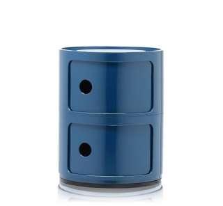 Kartell - Componibili - 2 Elemente - blau - indoor