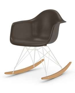 Vitra - Eames Fiberglass Chair RAR -weiss - Ahorn gelblich - 04 Eames Elephant Hide Grey - indoor