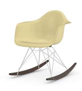 Vitra - Eames Fiberglass Chair RAR -glanzchrom - Ahorn dunkel - 01 Eames Parchment - indoor