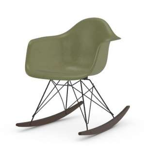 Vitra - Eames Fiberglass Chair RAR -basic dark - Ahorn dunkel - 05 Eames Sea Foam Green - indoor