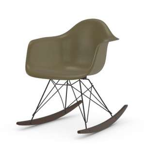 Vitra - Eames Fiberglass Chair RAR -basic dark - Ahorn dunkel - 06 Eames Raw Umber - indoor