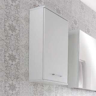 Badezimmer Hängeschrank in Weiß 1-türig