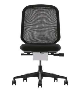 Vitra - MedaPal Bürostuhl - ohne verstellbare Lumbalstütze - ohne Armlehne - nero - indoor