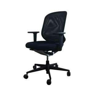 Vitra - MedaPal Bürostuhl - ohne verstellbare Lumbalstütze - mit höhenverstellbaren Armlehnen - nero - indoor