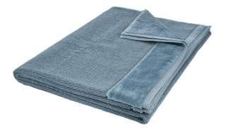 VOSSEN Badetuch  Pure ¦ blau ¦ 100% Bio-Baumwolle ¦ Maße (cm): B: 100 Badtextilien und Zubehör > Handtücher & Badetücher > Badetücher & Saunatücher - Höffner